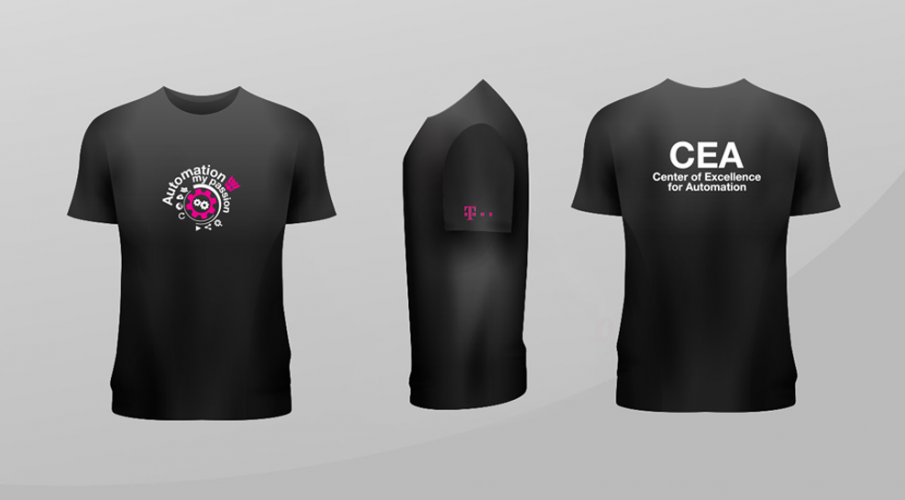 4bb90681f8f1 Potlač tričiek pre Telekom - gr8design