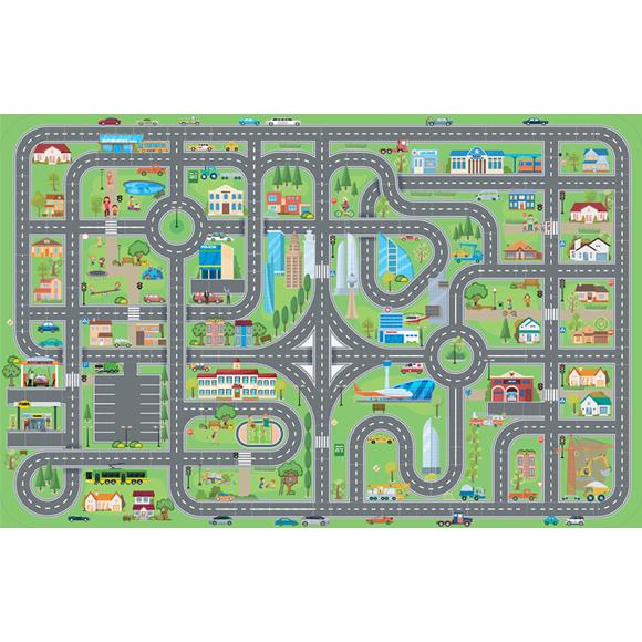 Dopravná mapa pre deti